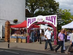Wayside in plum alley Pershore