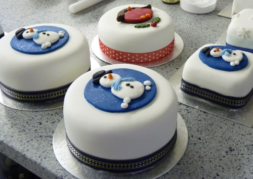 Wayside's Christmas Cakes!