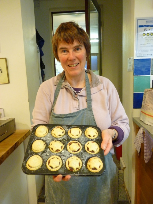 On the First Day of Wayside Christmas Elspeth`s mince Pies